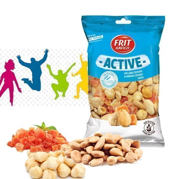 Cocktail frutos secos ACTIVE FRIT RAVICH 100 GR