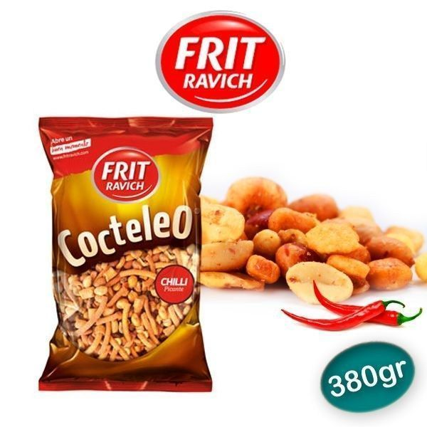 Cocktail frutos secos chilli FRIT RAVICH 400 GR