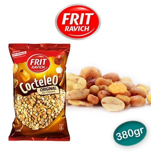Cocktail frutos secos sin cascara FRIT RAVICH 400 GR