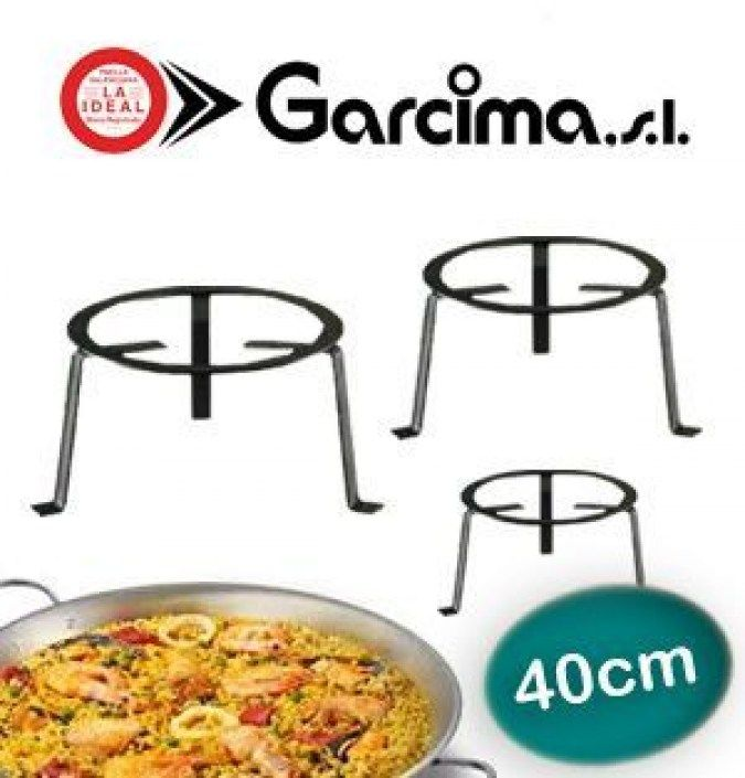 Wrought Iron Stand GARCIMA 40 cm